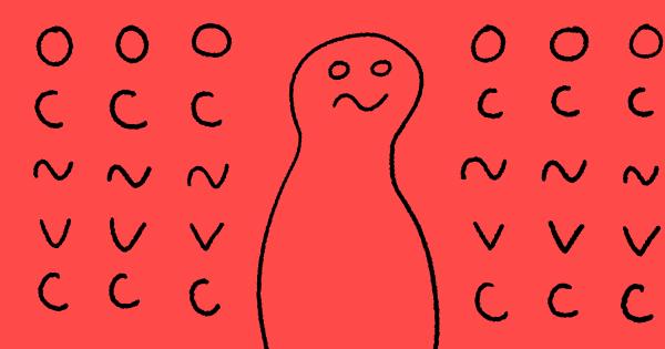 OCNバーチャルコネクトの自作キャラクターのイラスト